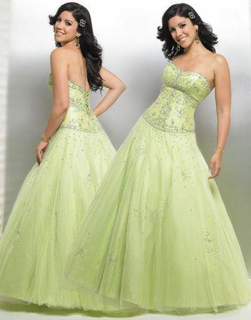 low back  corset style  green wedding dresses