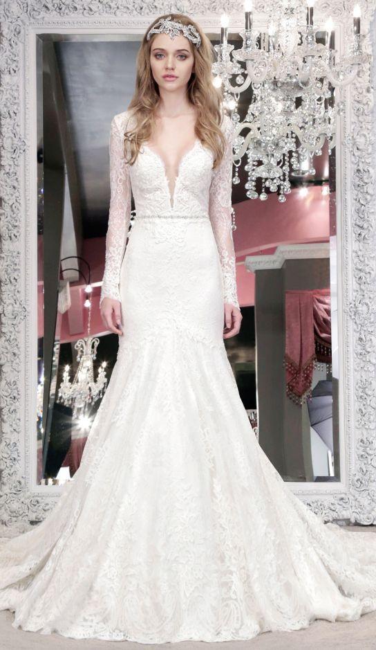 Winnie Couture Wedding Dress Inspiration   Novios, Vestidos de novia ...