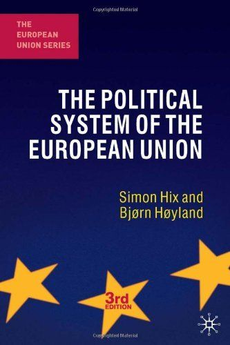 The Political System of the European Union (The European Union Series) by Simon Hix. $30.65. Publisher: Palgrave Macmillan; Third Edition edition (March 29, 2011). Edition - Third Edition. Author: Simon Hix