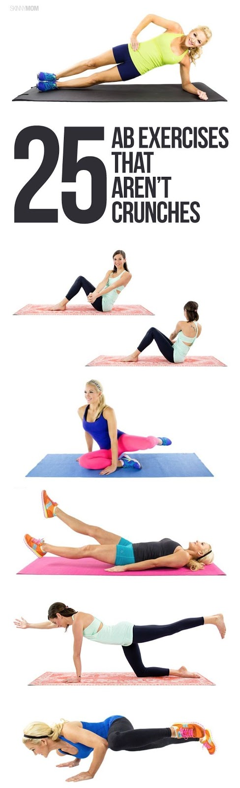 25 Ab Exercises That Arent Crunches