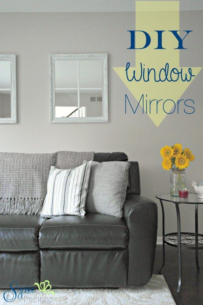 Diy window mirrors from old frames sypsie designs do it yourself diy window mirrors from old frames sypsie designs solutioingenieria Gallery