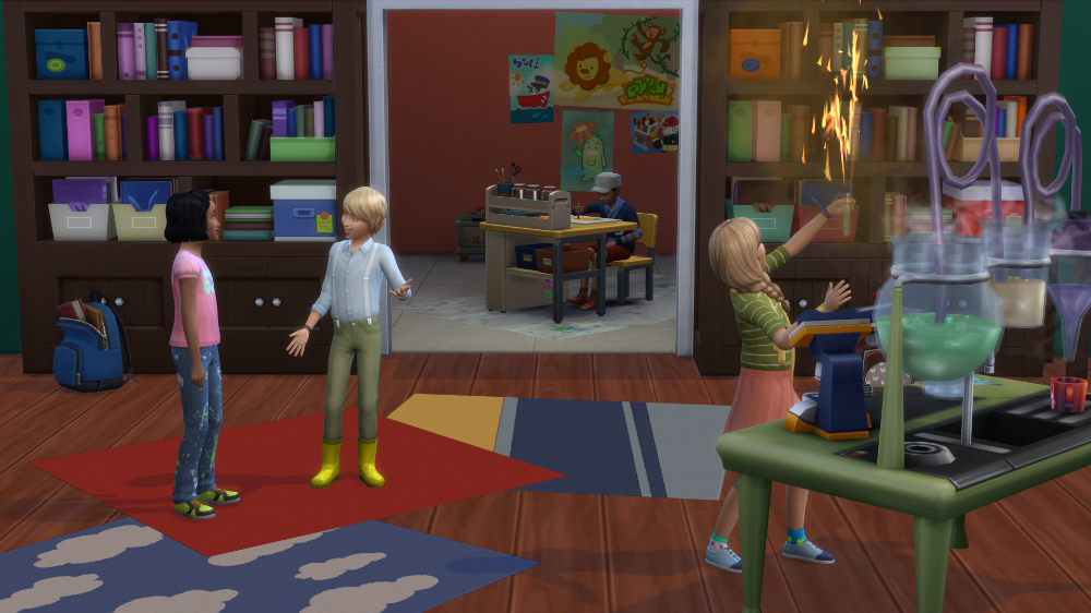 Mod The Sims Grade School From Home Grade School School School Trip