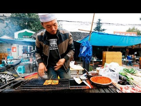 Chinese Street Food Tour In Chengdu China Best Street Food In China Youtube Chinese Street Food Street Food Best Street Food