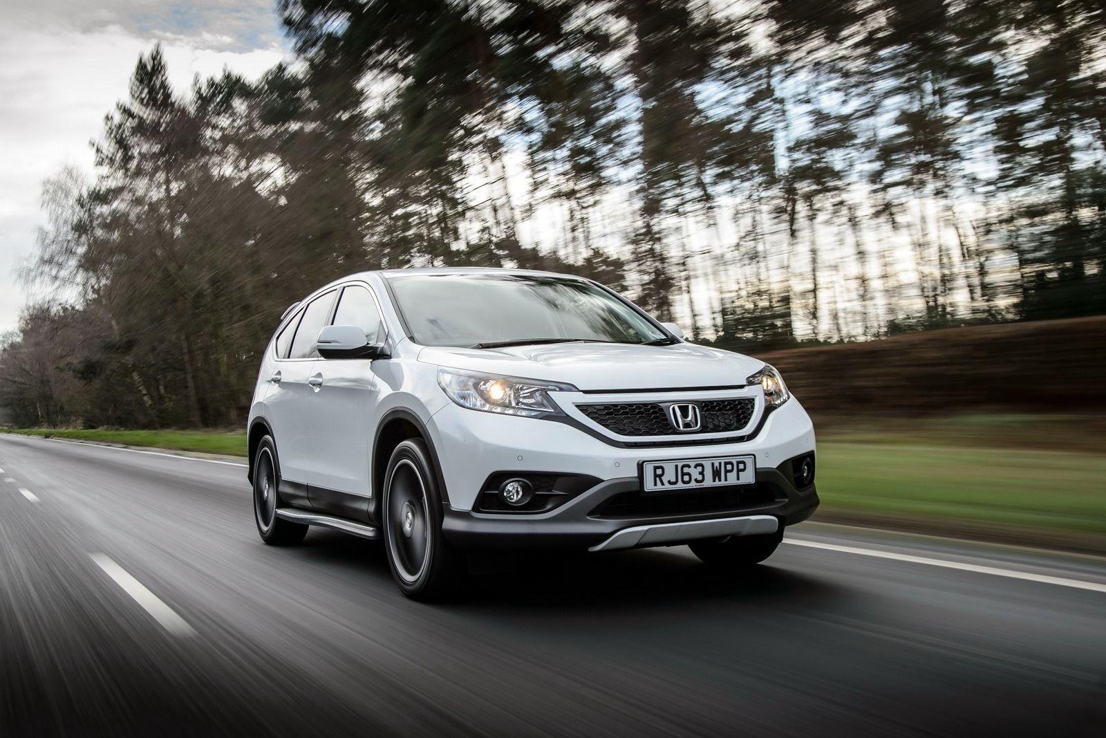 Honda new cr v white special edition