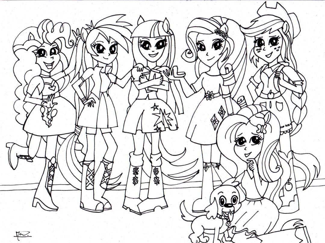 Kleurplaten My Little Pony Met Vleugels.Kleurplaten Voor Volwassenen En Kinderen Clara Fun Coloring