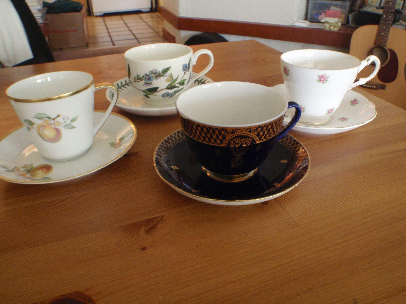 VTG TEA CUPS/REGENCY ENGLISH/LORENZ HUTSCHEN REUTHER/ST. PETERSBURG/PORTMEIRION | eBay