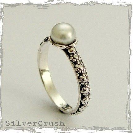 pearl ring $30
