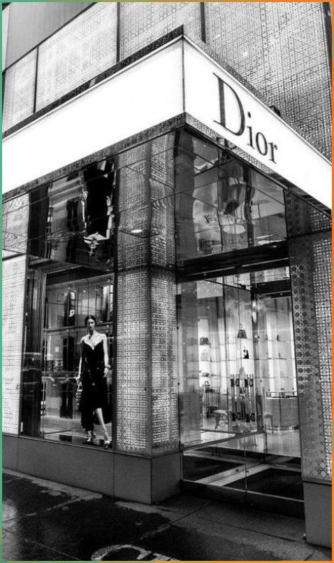 Christian Dior Fifth Avenue Art Print by William Carson Jr ...
