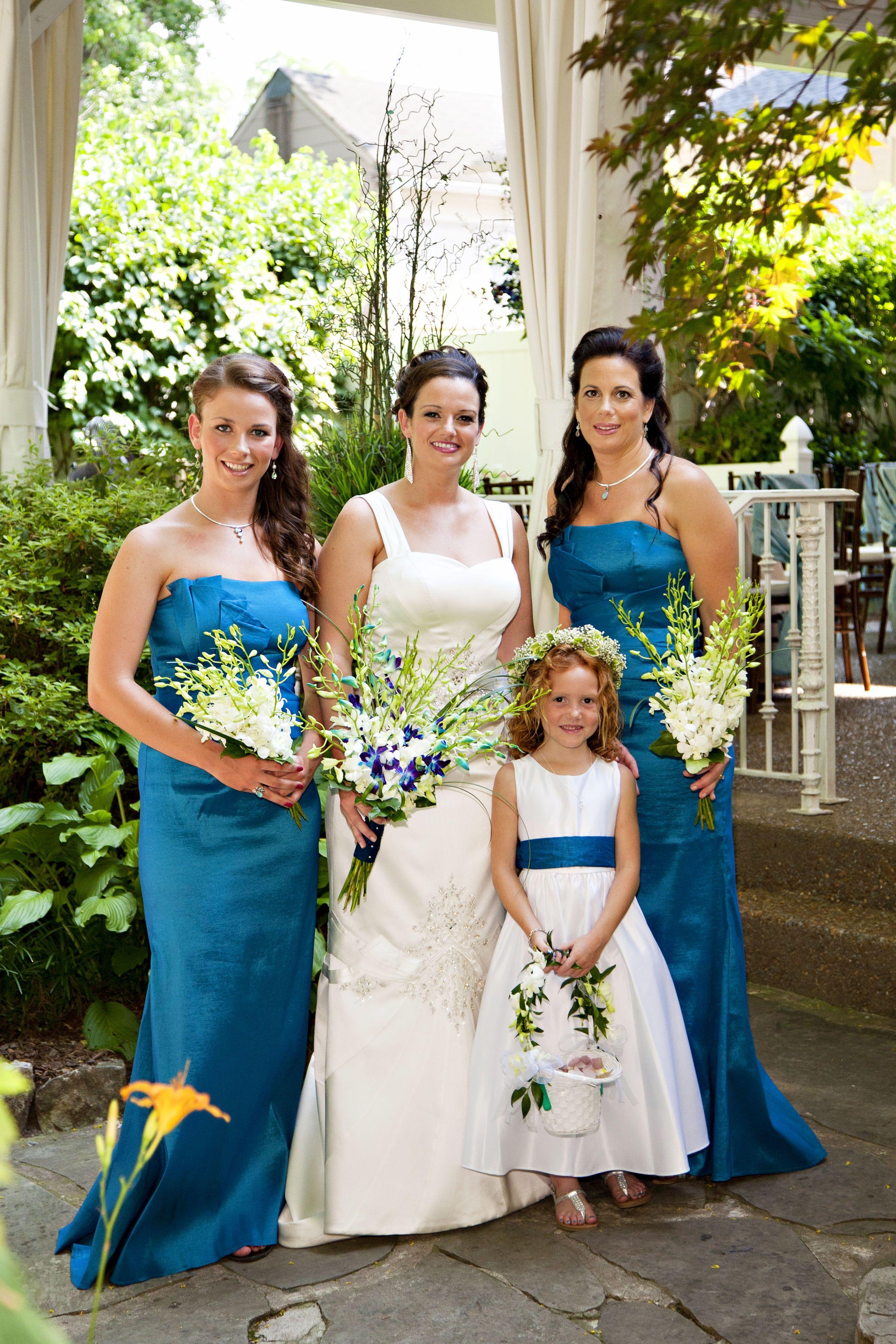 A tropical affair orchid bouquet garden weddings and wedding venues