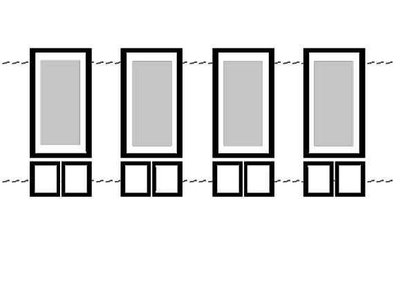 trucos para crear efectos visuales con cuadros, techos bajos