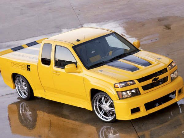 Chevy Colorado Xtremeneed This In Dark Blue W Silver Racing
