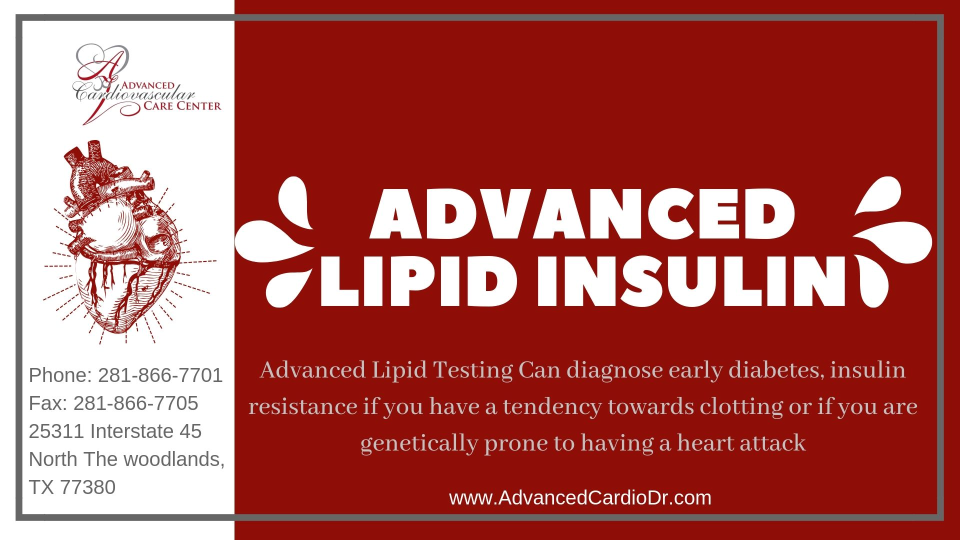 Pin on Advance Lipid Test Houston
