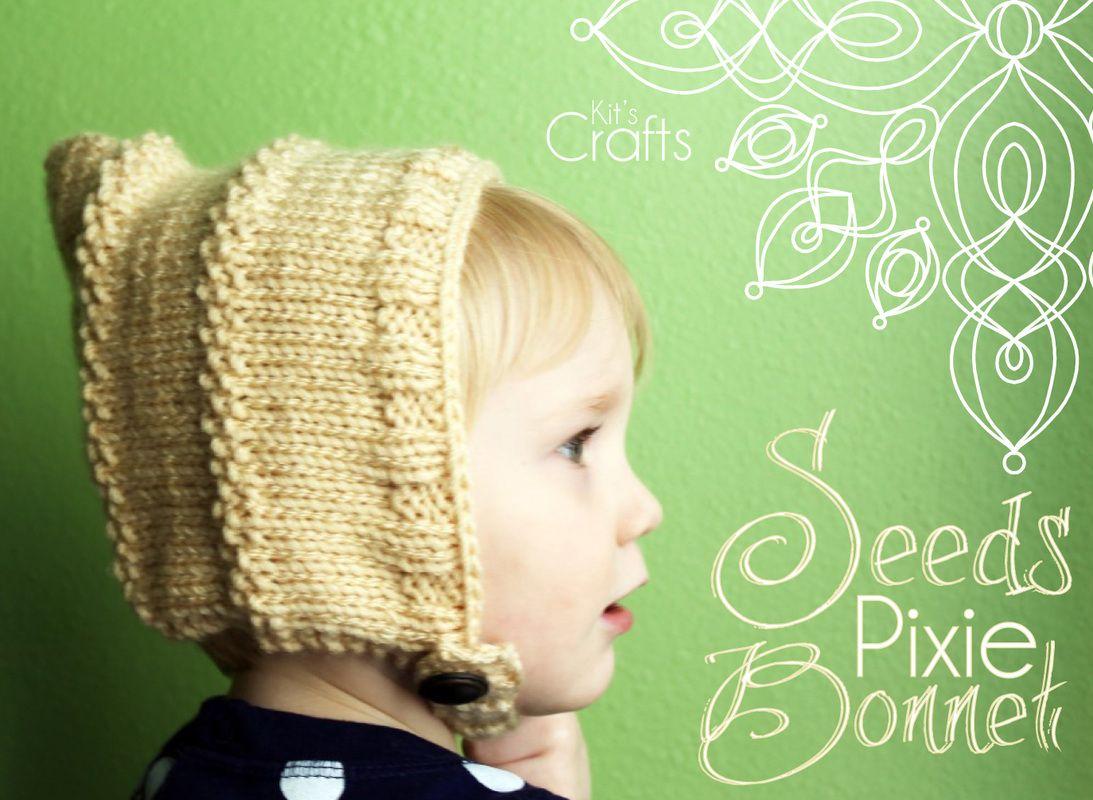Kit\'s Crafts - Seeds Pixie Bonnet | Knitting | Pinterest | Pixies ...