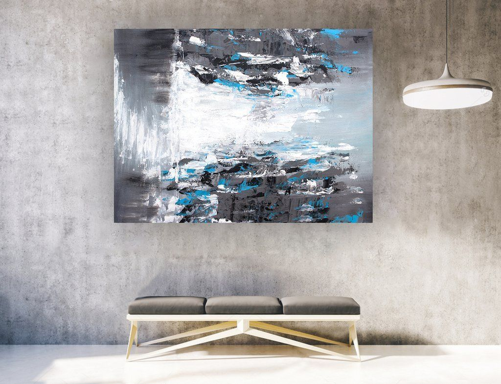 Large abstract wall art horizontal laf abstractart abstract