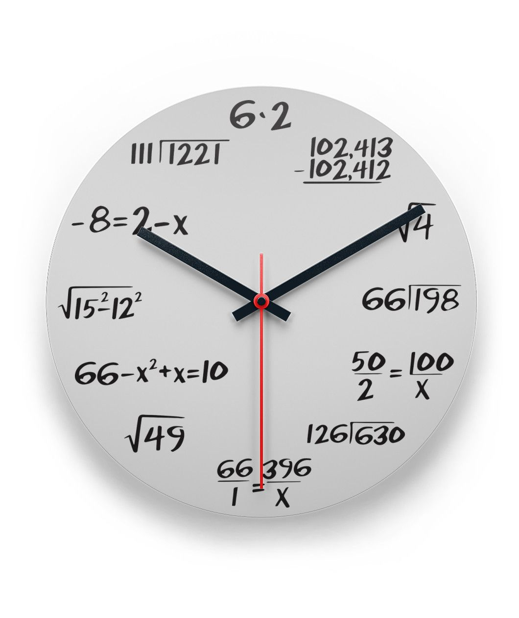 Math Wall Clock Limited Edition Wall Clock Clock Wall Clock Plans