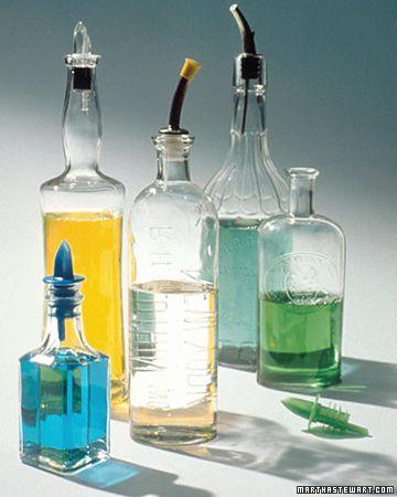 Spulmittel Umfullen Flaschen Dekorieren Fruhjahrsputz Alte