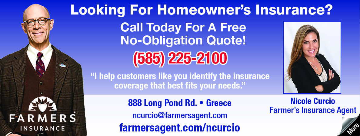 Farmer's Insurance Agent Nicole Curcio will help you with