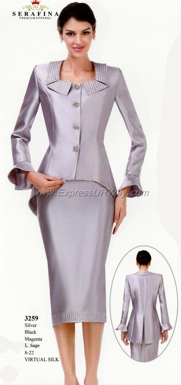 Excellent Skirt Suits For Church 2017  WardrobeLookscom