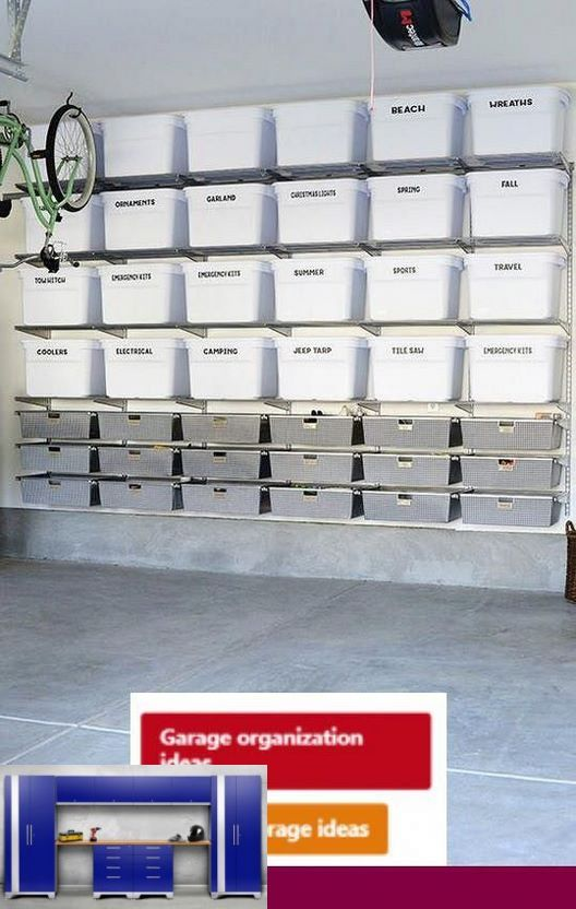 Heavy Duty Garage Shelving Plans And Garage Shelving Systems
