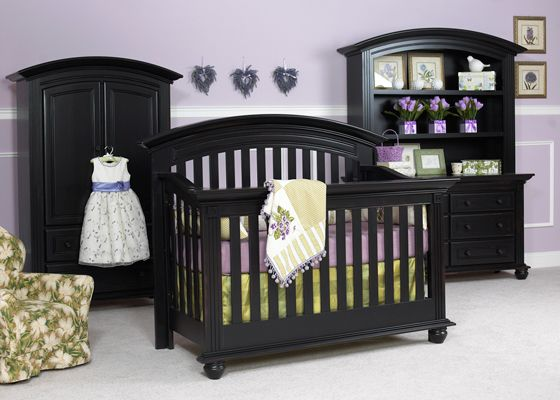 Exceptionnel Echelon Cambridge Collection Shown In Antique Black. Solid Wood, Made In  America. All Echelon Nursery Furniture Is Available At Great Beginnings.
