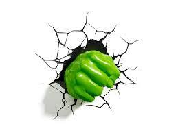 Resultado de imagen de logo de hulk superheroes pinterest avengers fx room deco led night light hulk right fist wall decoration mount aloadofball Choice Image