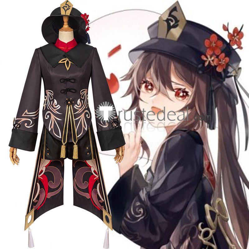 Genshin Impact Hu Tao Cosplay Costume In 2021 Cosplay Cosplay Costumes Anime Costumes