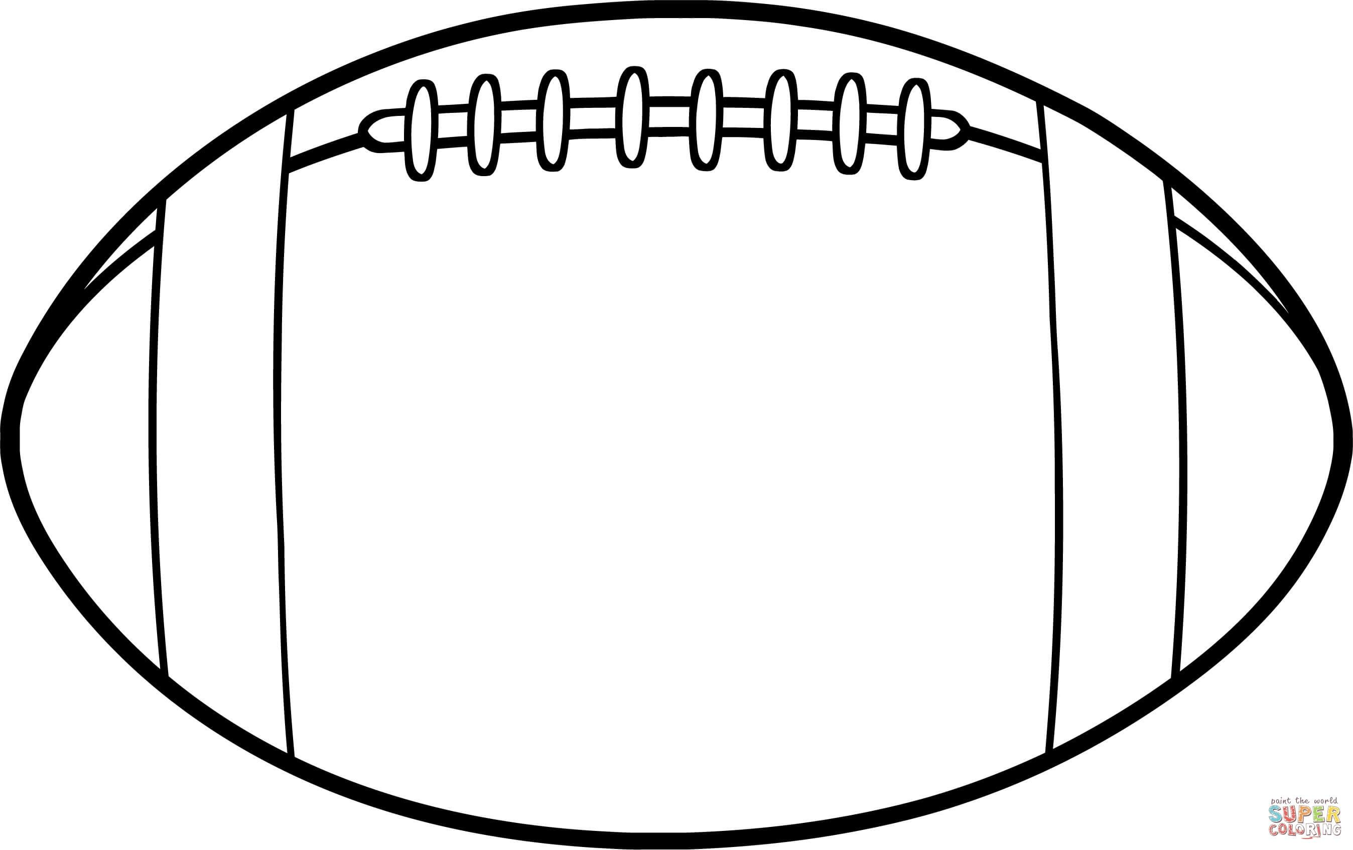 Unique Football Pictures To Colour Coloring Coloringpages