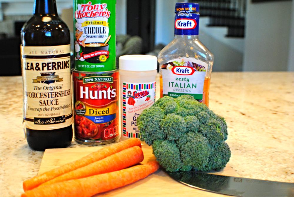 Easy Chicken & Veggie dinner