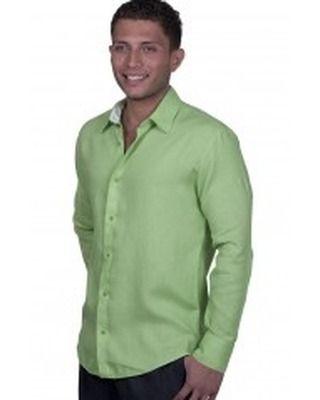Custom Made Mens Italian Shirt For Beach Wedding Attire