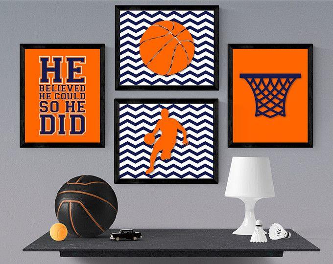 Attractive Basketball Nursery Decor   Sports Room Decor   Play Room Wall Art   Basketball  Bedroom Wall Art   Sports Nursery   Birthday Gift For Boys