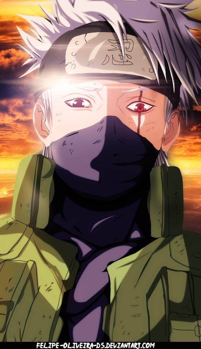 Kakashi from Naruto (Shippuden). Kakashi is actually one