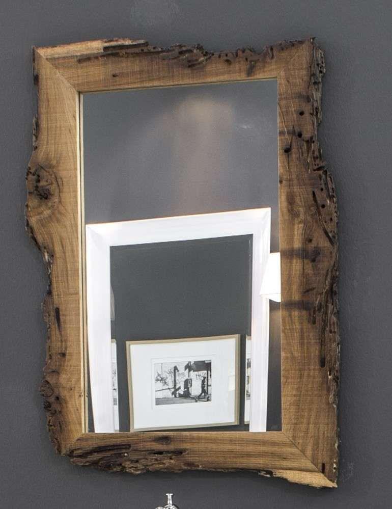 Specchi di design per bagno 2016 specchio in legno bleu - Specchio in legno ...