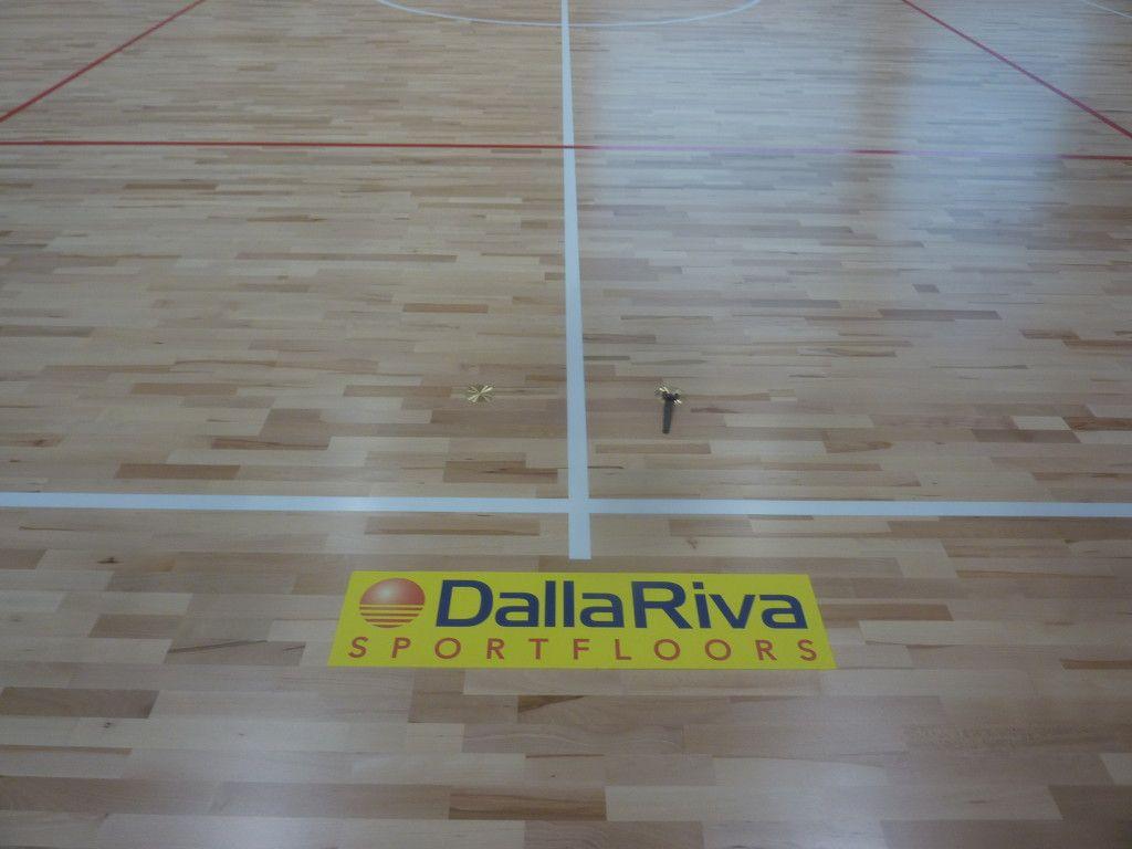 Nuovo parquet sportivo vicino a Torino uno dei primi