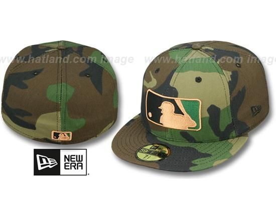 X By Umpire Mlb Baseball Cap Army Camo Era 59fifty New Fitted KJTFcl1