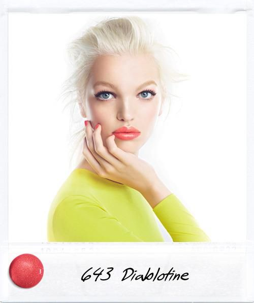 Dior Addict Diablotine 643- coral must have lip color! Perfect for spring!!!
