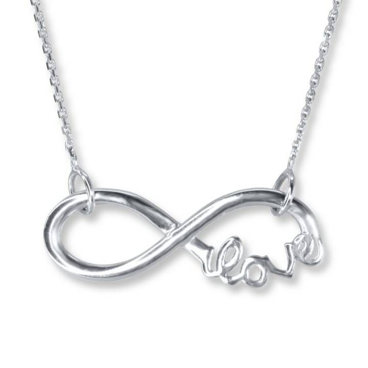 Infinite love necklace from Jareds Me in a nut shell Pinterest