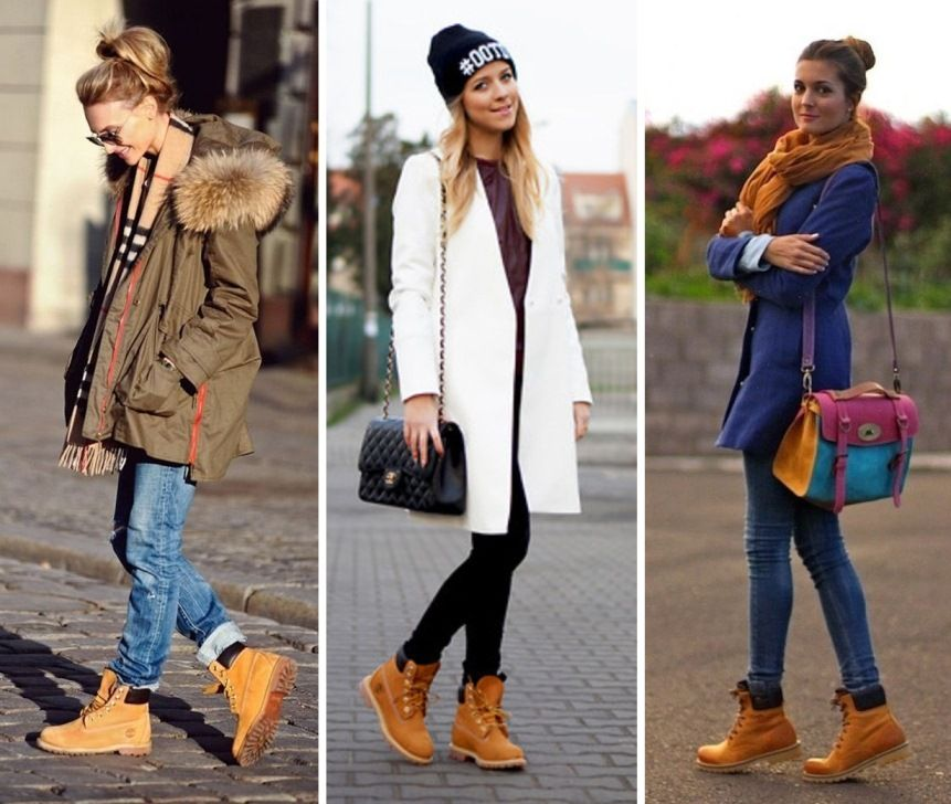 Outfits Mujer Boots Timberland Y Botas Para qwPZCPx