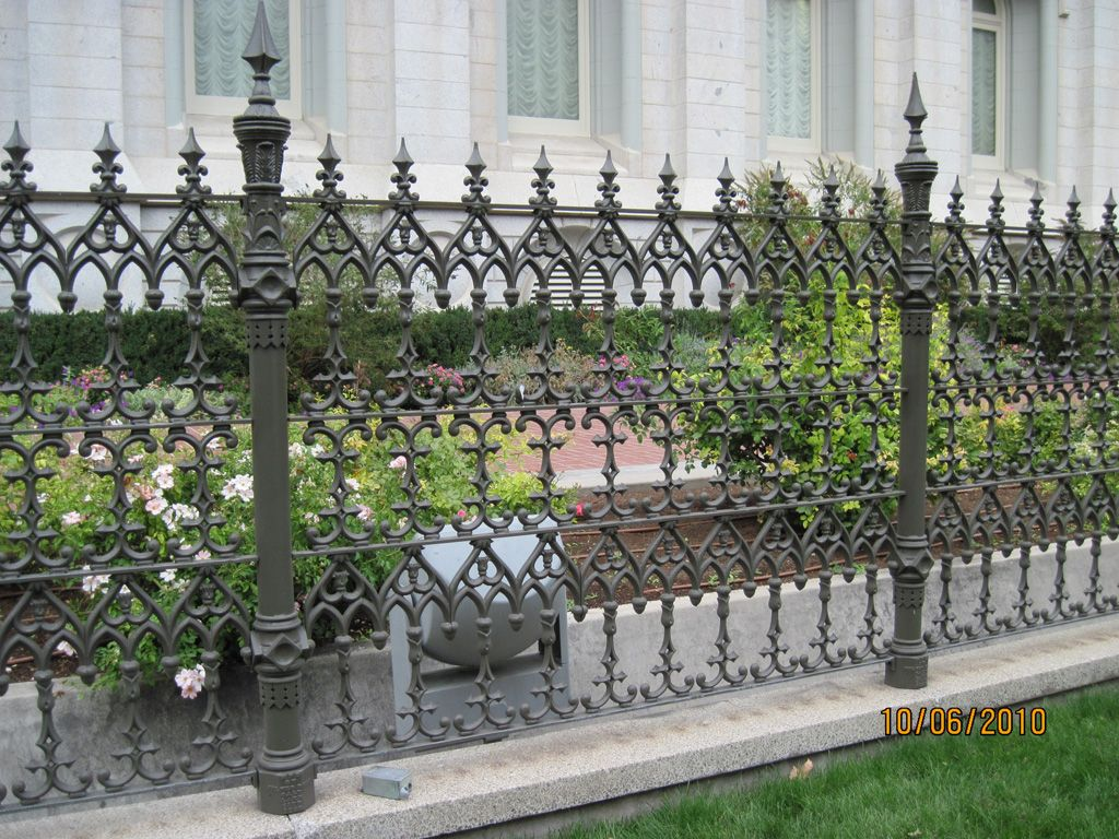 Antique Ornamental Iron Works Cast Iron Fence Iron Fence