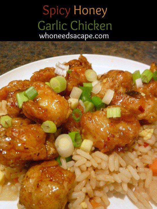 Spicy honey garlic chicken recipe on yummly yummly recipe easy spicy honey garlic chicken recipe on yummly yummly recipe forumfinder Images