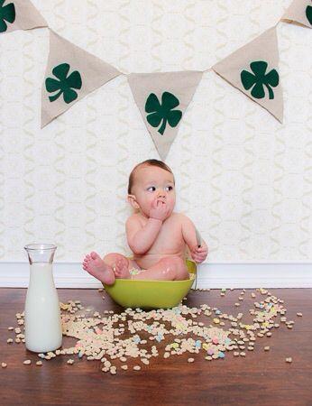 St Patricks Day Baby Photo St Patricks Day Pinterest Baby