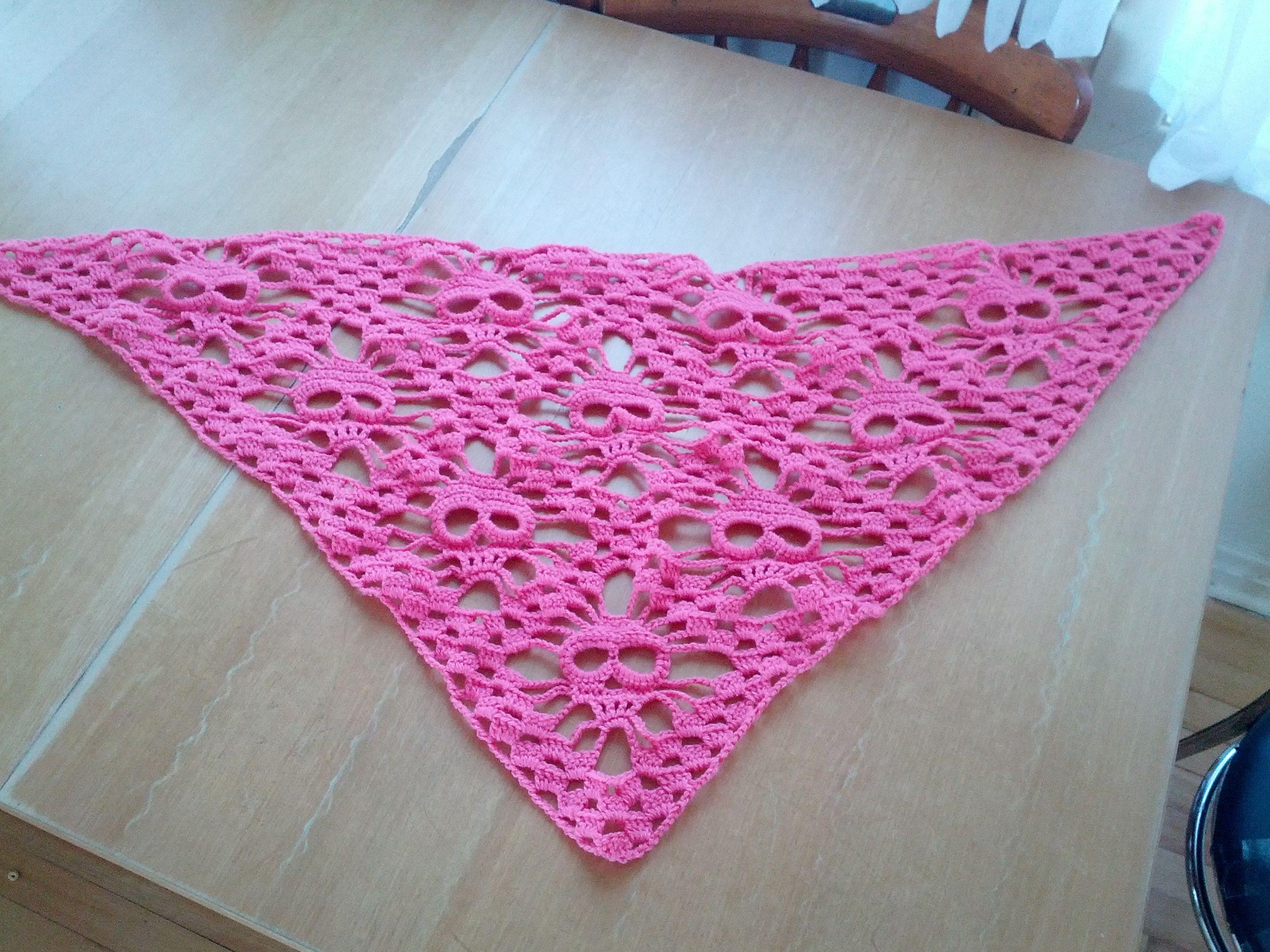 free skull crochet scarf pattern - Buscar con Google | Leuke dingen ...