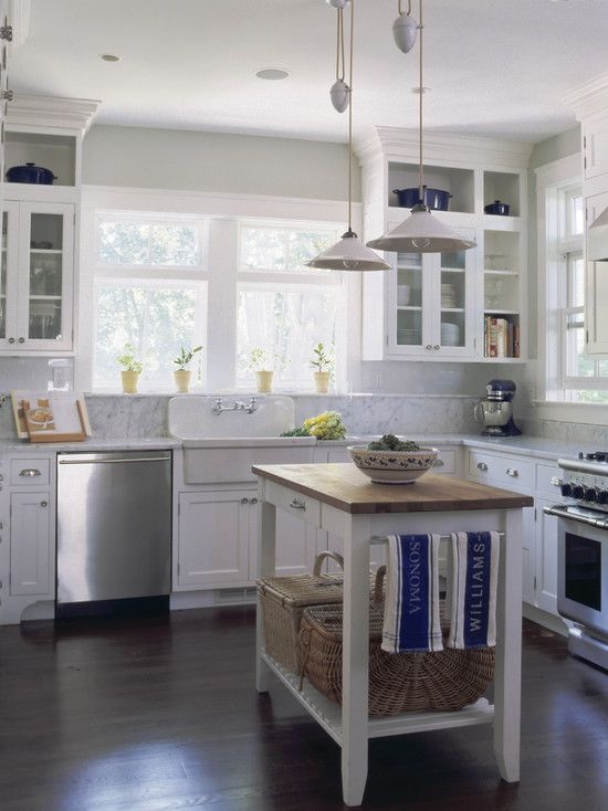 Very close to what I would love for my kitchen. I adore the balance of country modern in this room.