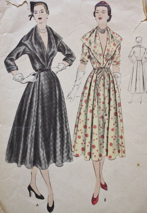 1950 Vogue Vintage Sewing Pattern Vogue by BluetreeSewingStudio, $32.00