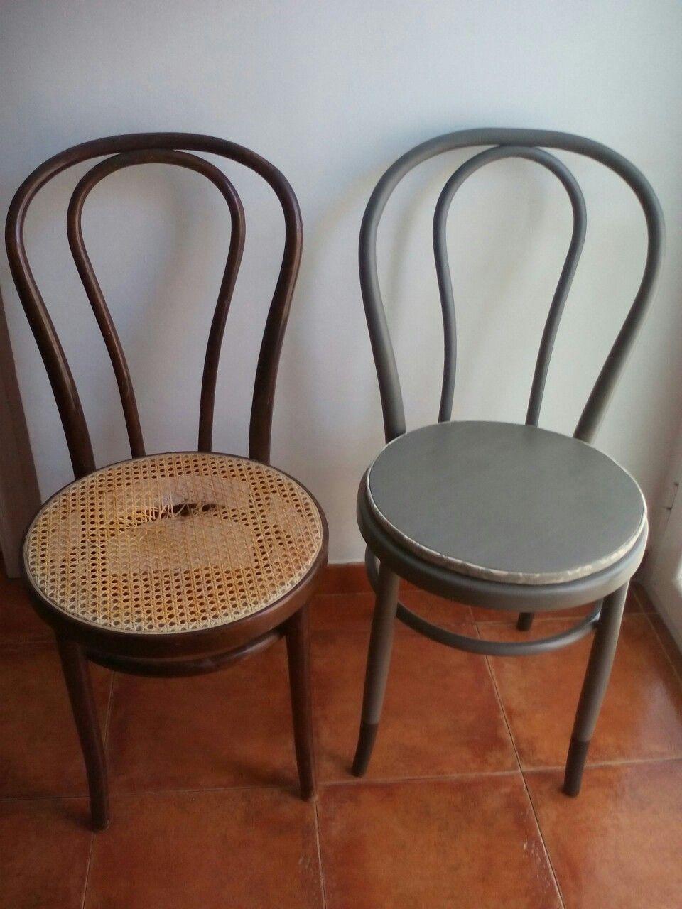 El antes y despu s de la silla thonet muebles for Sillas para viejitos