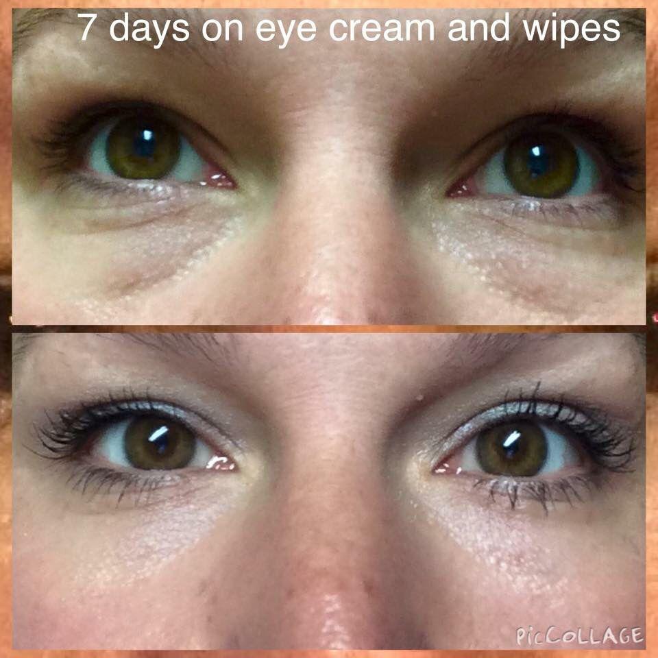 redefine multifunction eye cream and eye cloths   before