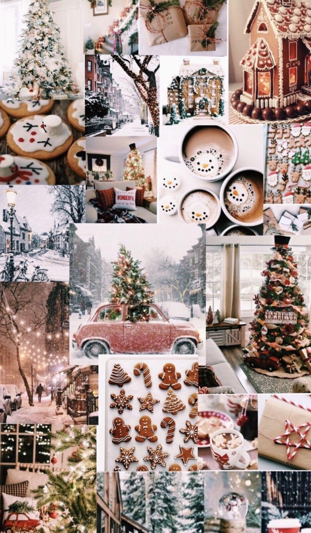 Pinterest Carolinefaith417 Christmas Wallpaper Christmas Wallpaper Backgrounds Christmas Collage