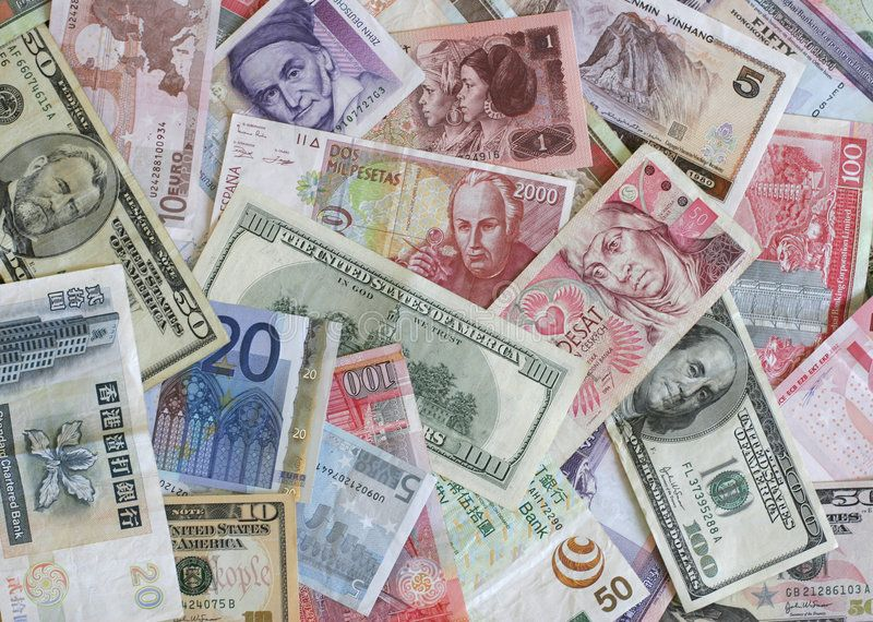 Foreign Currency Bank Notes From