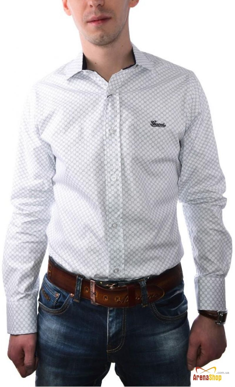 889cac1b214 Мужская рубашка Gucci. Цена  305 грн.