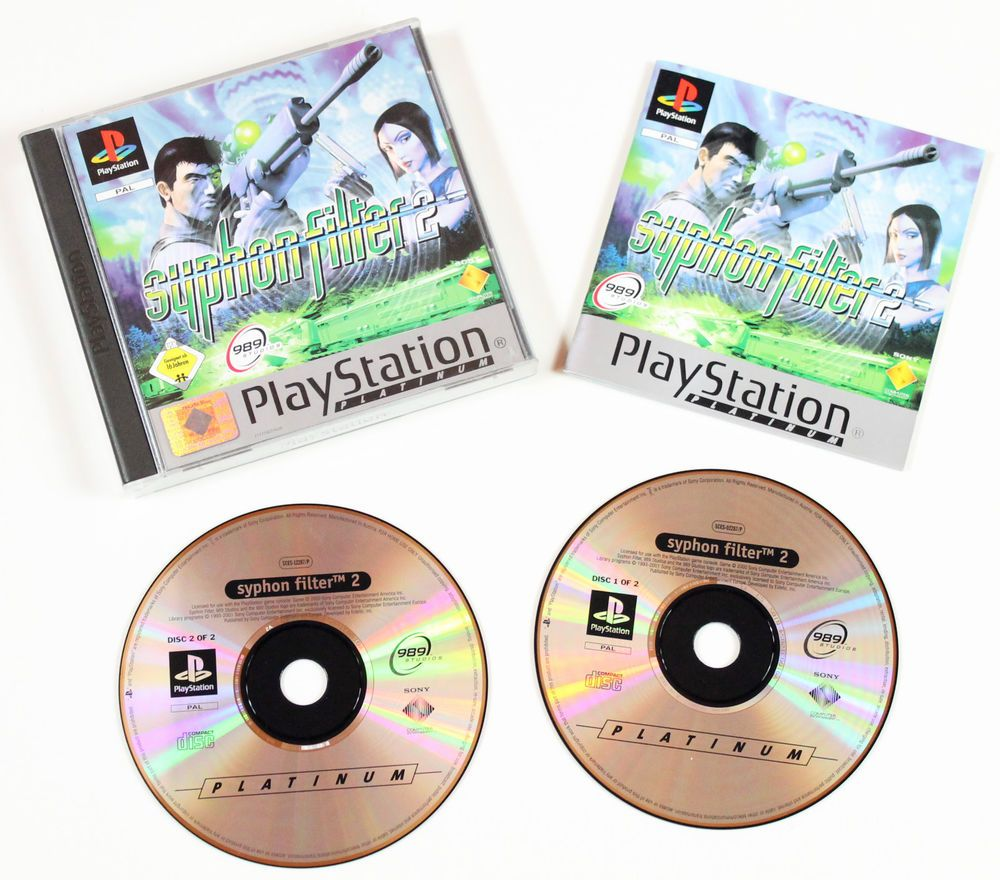 Sony Playstation 1 Syphon Filter 2 in OVP für Ps1