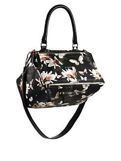 Givenchy - Pandora Floral Medium Shoulder Bag  57fb72125be0a